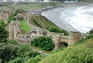 Scarborough Castle Barbican