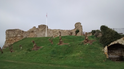 Hastings Castle Motte