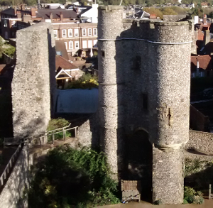 Lewes Castle Barbican and Norman Gateway