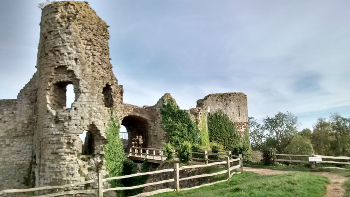 Pevensey Castle, North Tower and Gatehouse