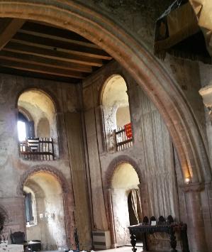 Norman Arch, Hedingham Castle